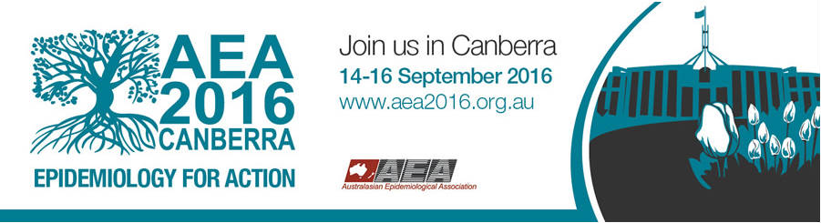 AEA 2016 - Epidemiology For Action - 14-16 September 2016, Canberra